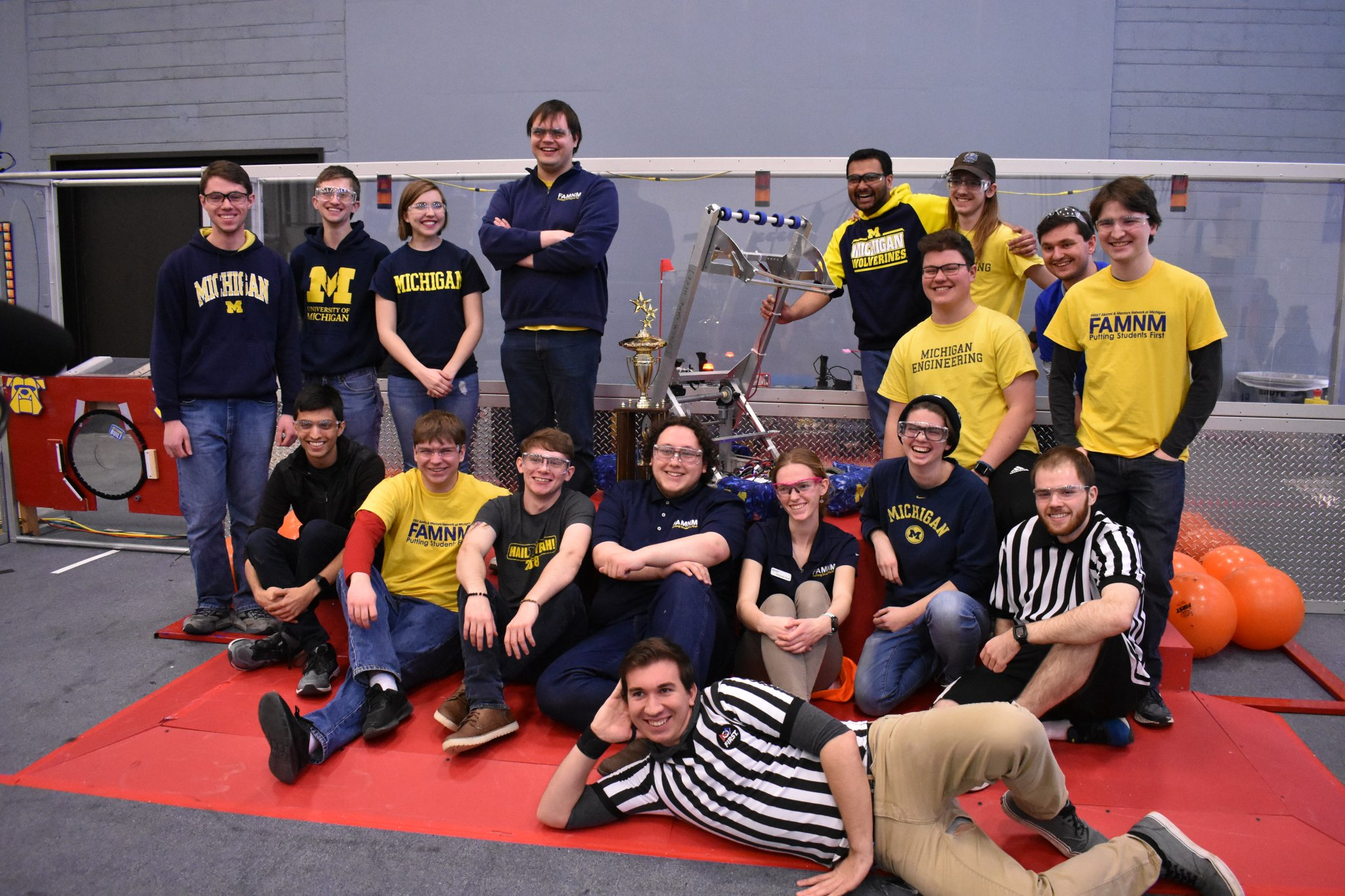 2019 Ri3D Winning Team Portrait